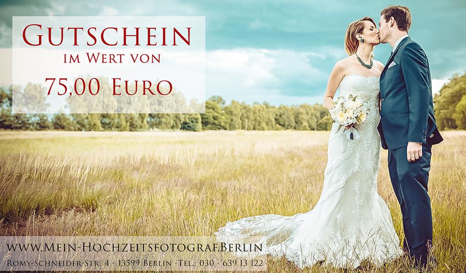 Fotograf-Hochzeit Berlin - Gutschein als Geschenkidee fuer Gaeste zur ...